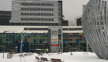 New born delivered by parents outside MUHC's locked doors